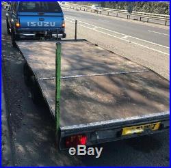 Ifor williams lt146/b 14ft beavertail car transport trailer