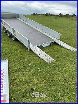 Ifor williams trailer Tilt Bed Car Trailer
