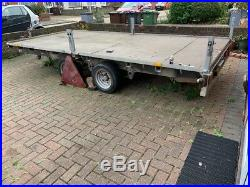 Iforwilliams trailer LM 146 car transporter multy trailer