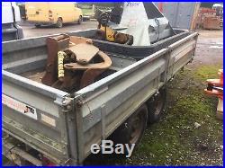 Indesepension 5x10ft Trailer Twin Axle 2.6 Ton
