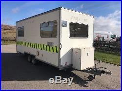 Indespension 16.6ft X 7ft Trailer Show Cabin Twin Wheel