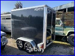 Indespension Box Trailer Twin Axle