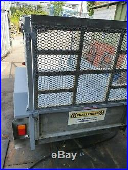 Indespension Challenger 8x4 2.3 ton double axle caged trailer