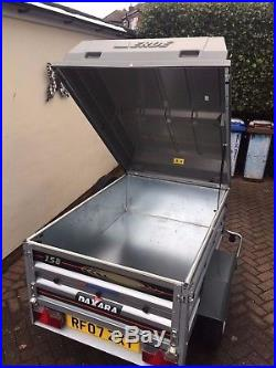 Indespension DAXARA 158 trailer with ABS gas lift lid and extras