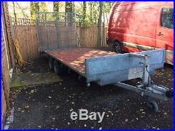 Indespension Plant trailer / car trailer / Multi Purpose Trailer 17ft c/w ramp