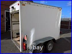 Indespension Tow A Van Box Trailer Internal Measurements 7x4x5ft