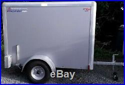 Indespension Tow a Van 6ft x 4ft x 4ft 750kg Lockable Box Trailer