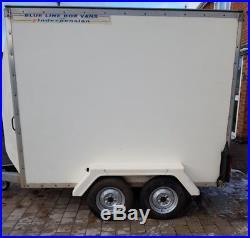 Indespension box tow a van car trailer braked motorcross karting dj disco no vat