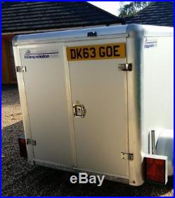 Indespension box trailer camping trailer hardly used 6x4