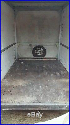 Indespension box van trailer