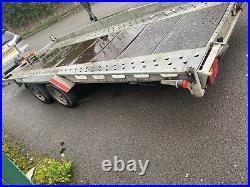 Indespension car trailer