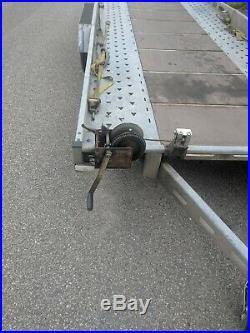 Indespension car transporter trailer