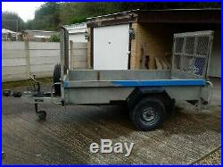 Indespension challenger 8x4 trailer fully caged with ramp