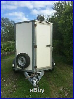 Ivor Williams box trailer