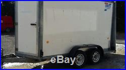 Ivor williams box trailer/car