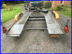 Jothawerk Car Transporter Trailer 2 ton tandem axle flatbed