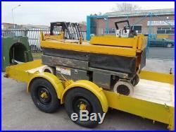 King lolode 3.5 ton kneeling tilt plant trailer