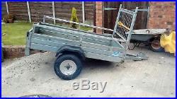 Klinn 6x4 trailer, galvanised, 500kg payload