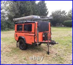 Land Rover Defender Camping/Expedition Sankey Trailer