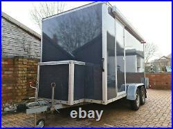 Large 12' Box Trailer Car Transporter