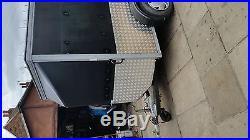 Large 4 wheel box trailer