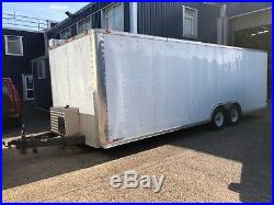 Large American Race Car Trailer 24' x 8' with Full G&H Awning