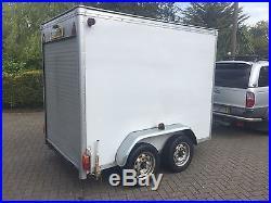 Large Box Trailer Twin Axle