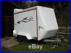 Large Box Trailer Twin Wheel TowAVan