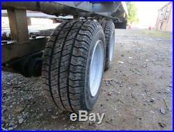 Large Car/Van Transporter, Trailer Beaver Tail 2.6t, 16' x 6', 4'' Braked, Led