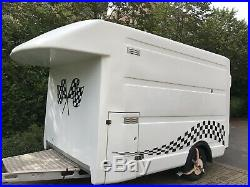 Large Ex BT Box Trailer Aluminium Braked Chassis