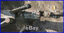 Large Heavy Duty Twin Axle Braked Tilt Bed Car Transporter Trailer