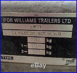 Large Trailer Ifor Williams