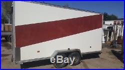 Large box trailer 14ft long