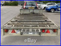 Lfor Williams 14ft Car Transporter Trailer 3500 KG Twin Axle