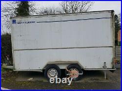 Load Lugger twin wheel Box Trailer