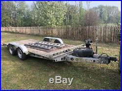 Low Loader Trailer Car Transporter