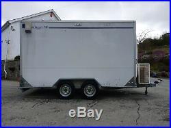 Lynton box trailer Ifor Williams Graham Edwards