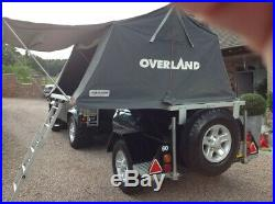 Merlin Off Road Trailer Overland Roof Tent Camping Trailer Tent, Camper