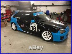 Mg Zr race car with trailer £4500