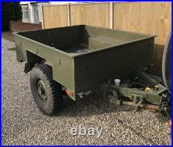 Military Sankey Wolf Wide Landrover Trailer