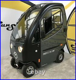 Mini Crosser M2 Cabin 4 Wheel Mobility Scooter Car With Trailer FREE DELIVERY