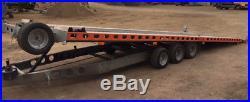 Nearly new 7 metre tilt bed trailer