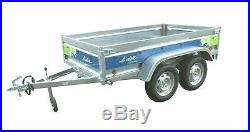 New un used 2019 Lider Florence 39330 Large Twin Axle Camping Trailer + Lid