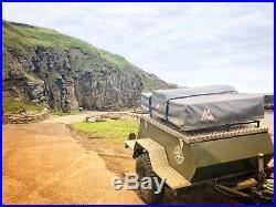 Overland Adventure Camping Trailer Sankey Wide Track Conversion