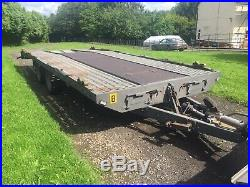 PRG Car Transporter Trailer This is not an Ifor Williams or Brian James but PRG