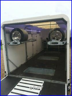 PRG ProSporter 3500Kg Tri Axle Body 6.25 Metre Enclosed Car Trailer Many Extras