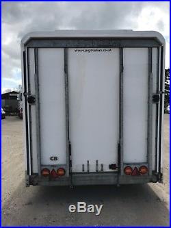 PRG Prosporter Enclosed Car Transporter Tilt Trailer