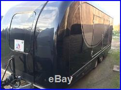 PRG Transporter Large Box Trailer Black With Bench Race Car Use Twin Axle