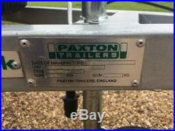 Paxton Trailer 6 X 4 Caged Unbraked In Exceptional Condition, As Hardly Used
