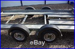 Peak car transporter trailer